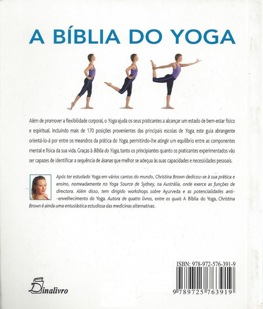 port).biblia do yoga: Amazon.es: Christina Brown: Libros