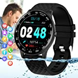 Smart Watch,Fitness Tracker Watch with Heart Rate Blood Pressure Monitor IP67 Waterproof Bluetooth Smartwatch Sports…