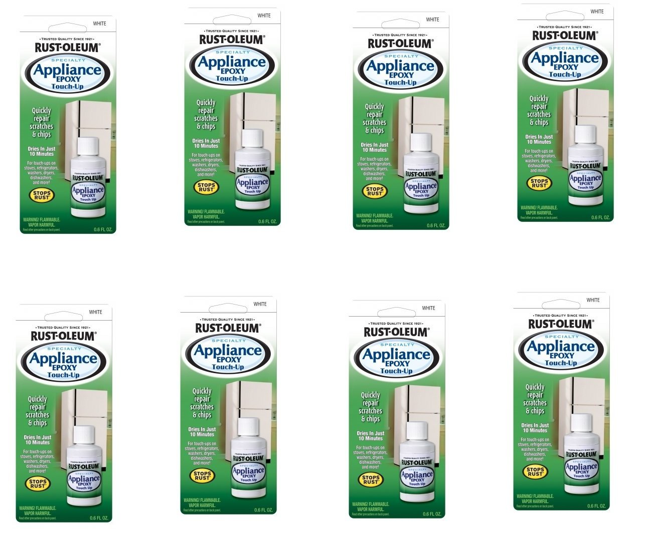 Rustoleum ® 20300 0.6 oz. Appliance Touch-Up, White (8) by Rustoleum ® (Image #1)