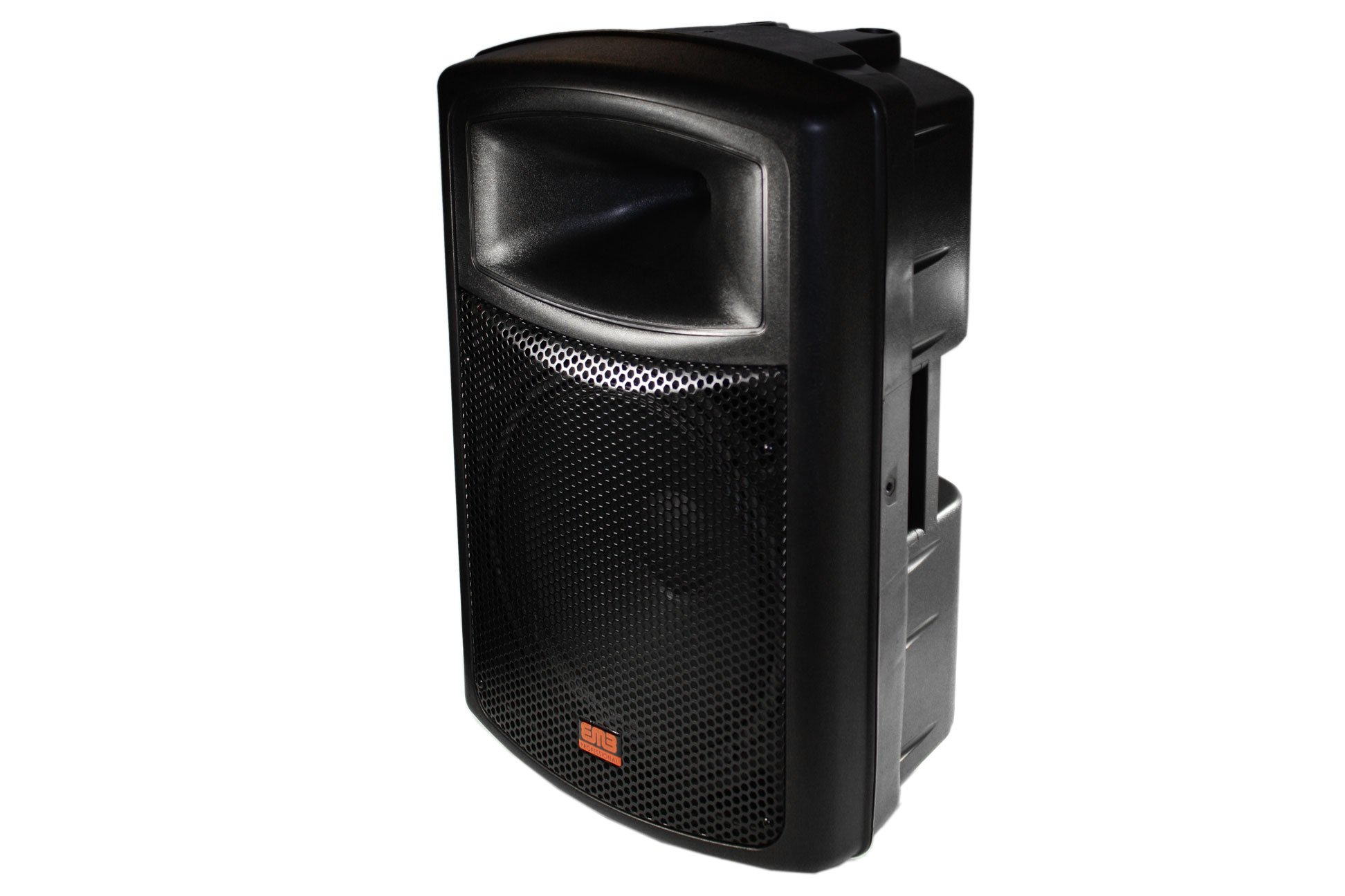 EMB EB115BT Pro Single 15'' 2-way Powered Speaker with BLUETOOTH 1200 Watt Built-in Amplifier/USB Mp3 Player