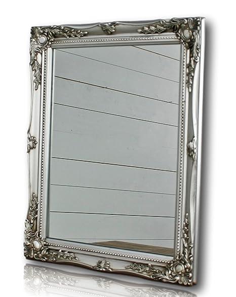 Espejo de pared rectangular con marco en Color Antiguo con ...