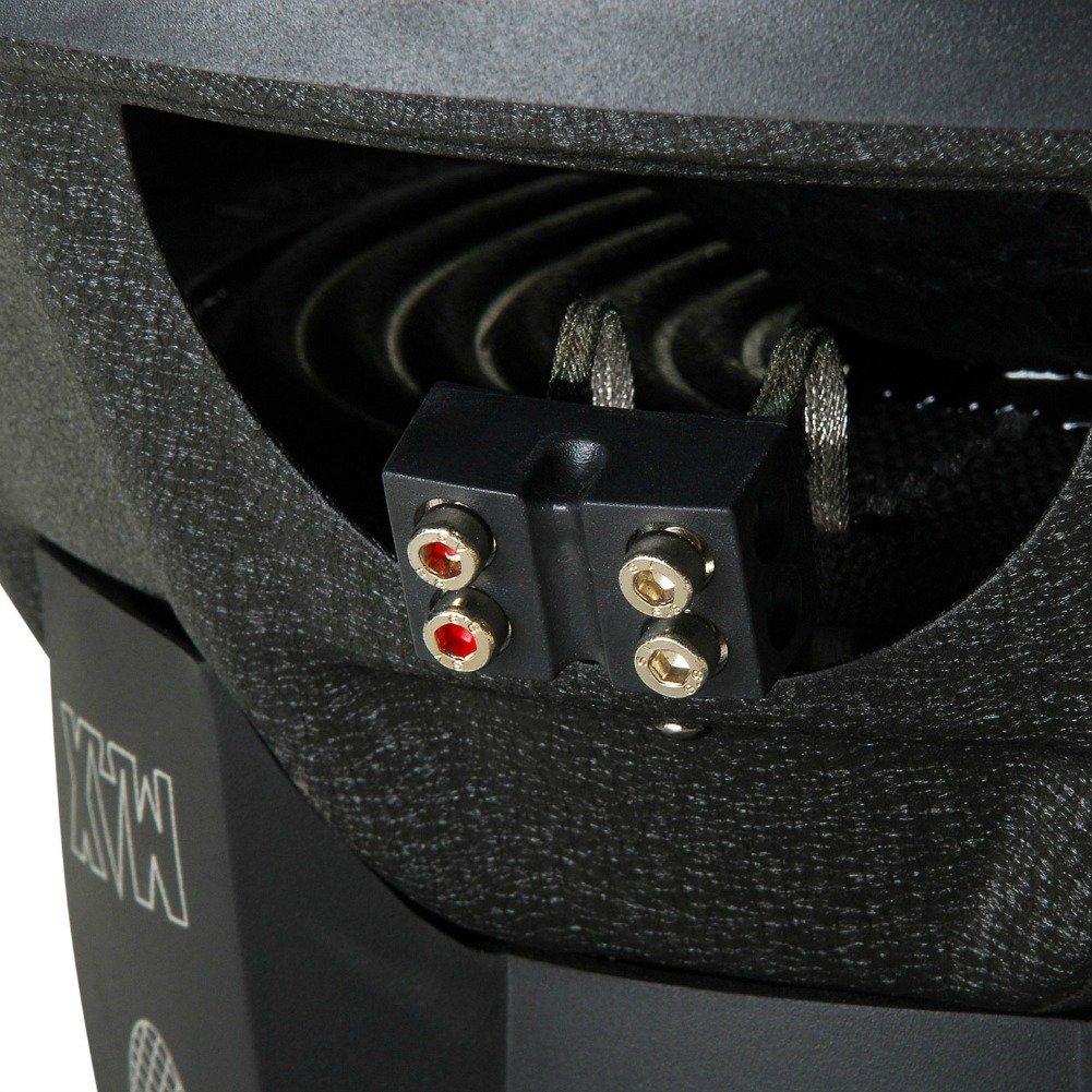 Lanzar SUBWOOFER MAXP124D MAX P124D VON 30,00 cm 12 300 MM DVC 4+4 OHM VON 800 WATT RMS UND 1600 WATTSES MAX DOPPELTE Spule VON 4 4 OHM DVC DOPPELSTIMME-Rolle F/ÜR Starkes Kasten-PACKWAGEN-Auto!!!!