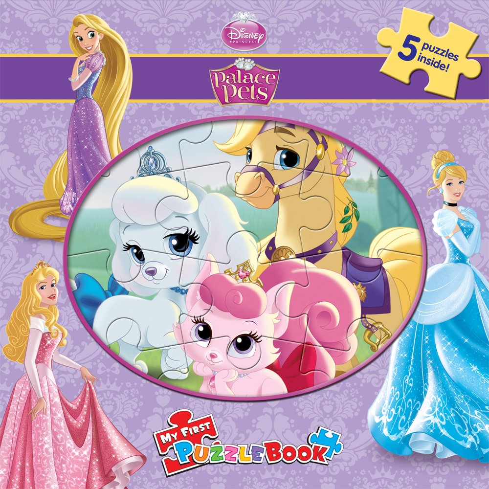 Download Disney Palace Pets My First Puzzle Book pdf epub