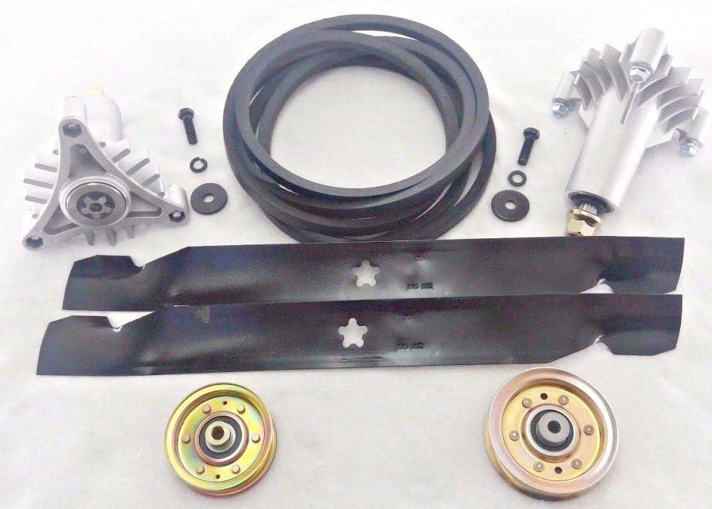 "134149 Husqvarna Craftsman 42/"" Deck Gator Blades /& Belt Maintaince Kit 144959"