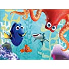 Ravensburger Disney: Finding Dory Glow In The Dark 100 Piece Jigsaw Puzzle for Kids – Every Piece is Unique, Pieces Fit Together Perfectly