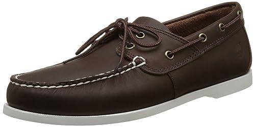 Timberland Men Cedar Bay Boat shoe,Brown (Chocolate Galloper Full Grain), 7.5 UK