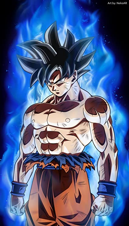buy dragon ball super goku b 24x36 inches satin material poster