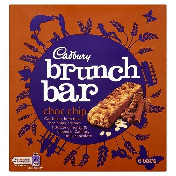 Cadbury Bares Chispas De Chocolate De Brunch (6X35g) (Paquete de 6)