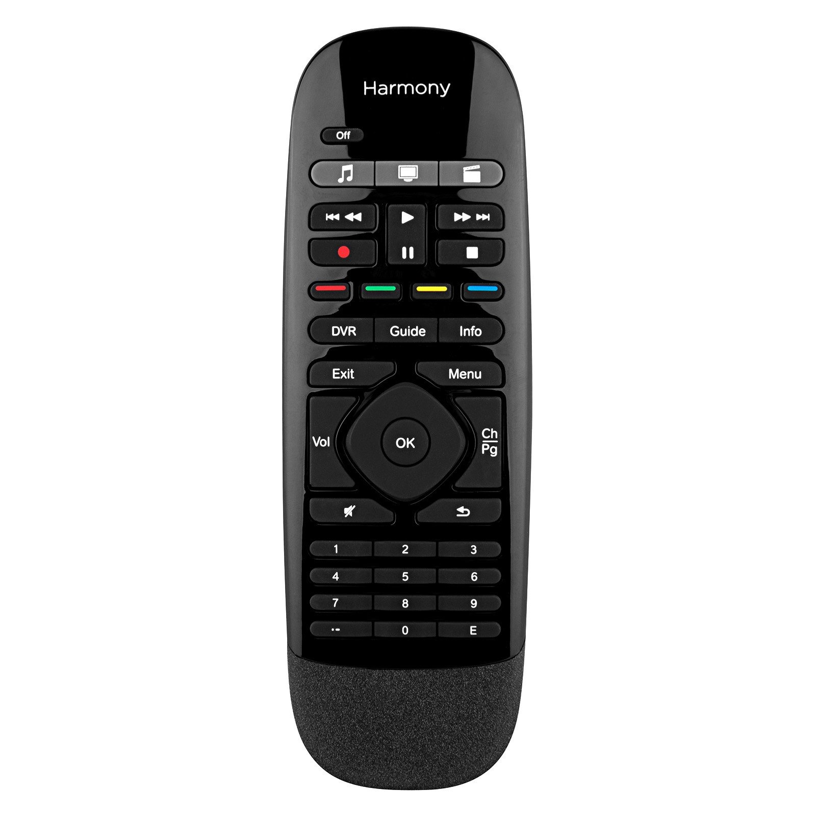 Logitech 915-000194 - Harmony Smart Remote Control with Smartphone App - Black (Certified Refurbished)