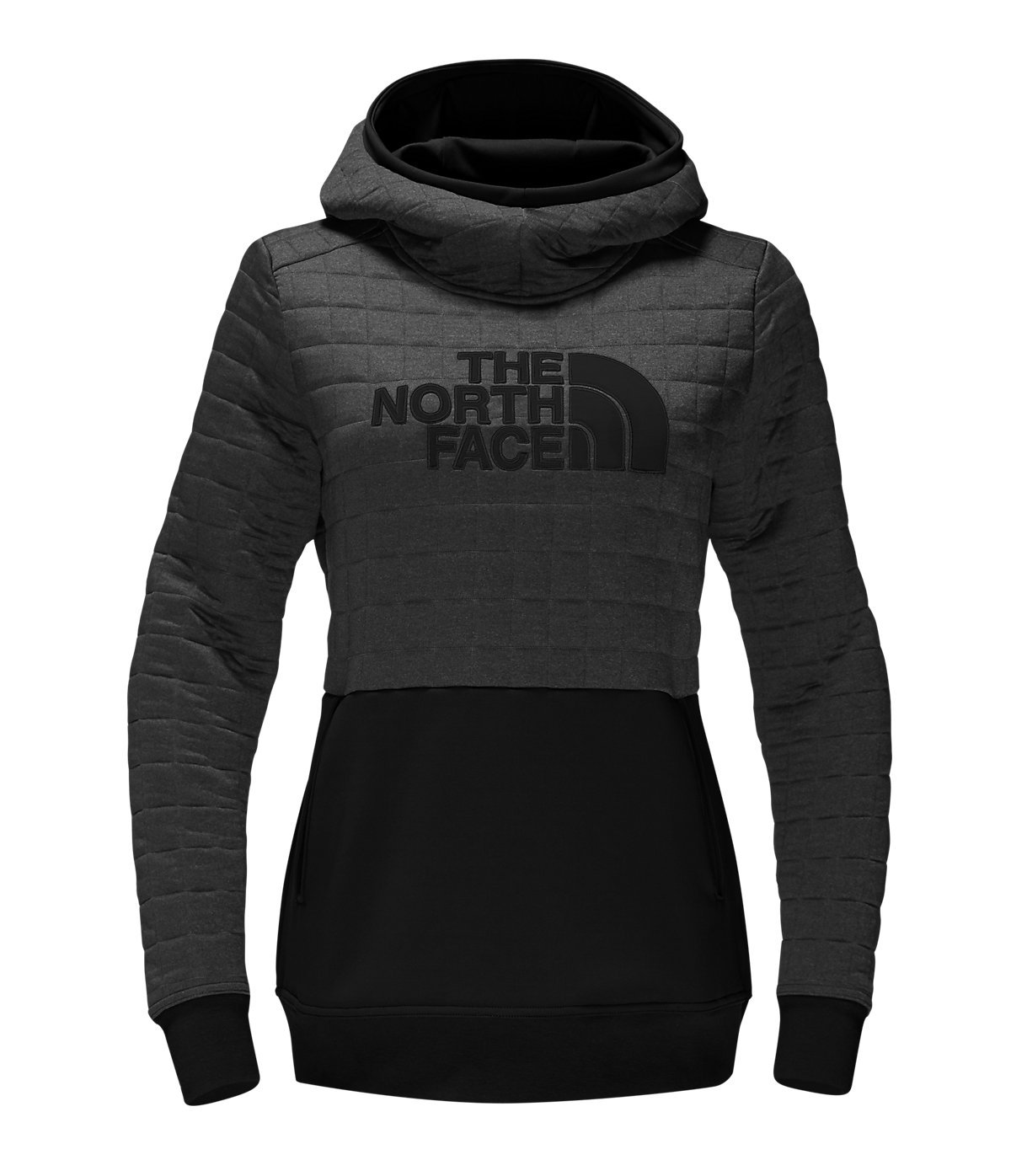 North Face Half Dome Quilted Pullover Hoodie Womens Style : A34XE-FLC Size : M