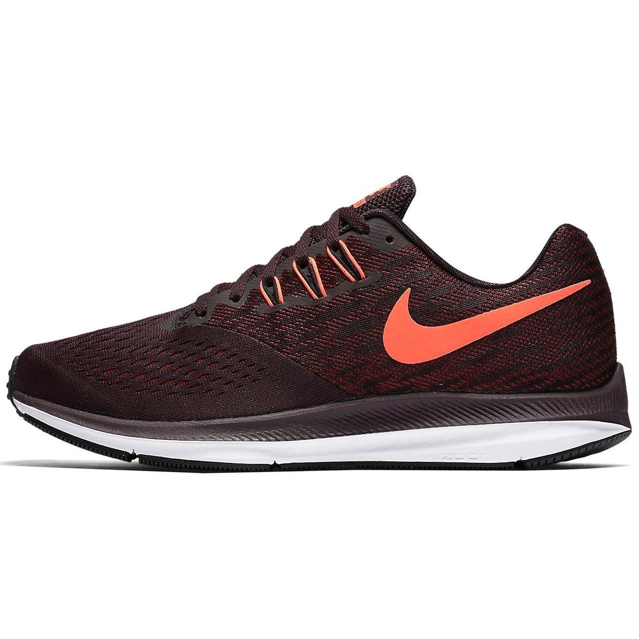 united kingdom shop best sellers latest Nike Men's Air Zoom Winflo 4 Running Shoe, Port Wine/Total Crimson-Team  Red-Black, 10