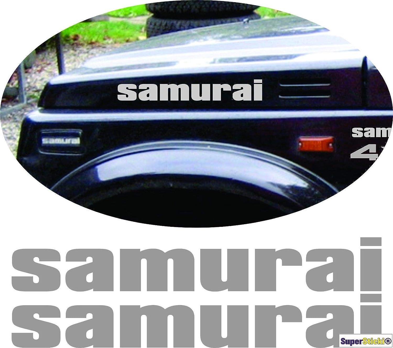 SUPERSTICKI Suzuki Jimny Auto Aufkleber ca 40cm 2 St/ück Aufkleber Sticker Decal aus Hochleistungsfolie Aufkleber Autoaufkleber Tuningaufkleber Racingaufkleber Rennaufkleber Hochleistungsfo
