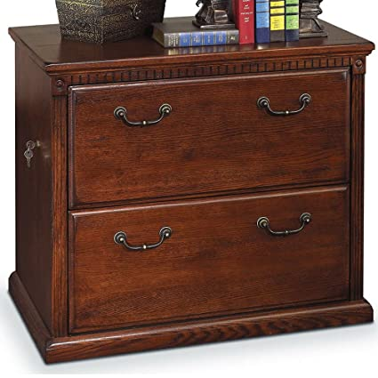 amazon com solid wood lateral file cabinet 2 drawers with lock rh amazon com