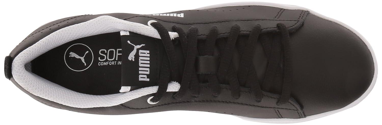 PUMA Damens's Smash WNS Leder Perf M Sneaker, schwarz schwarz, 9.5 M Perf US - 8493f4