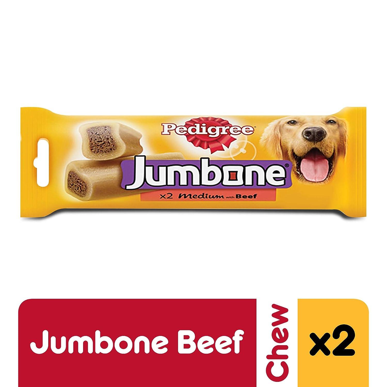 Pedigree Jumbone Medium 2 Beef Chews 200g