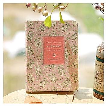 Fut nueva bonita floral de piel sintética libro agenda ...