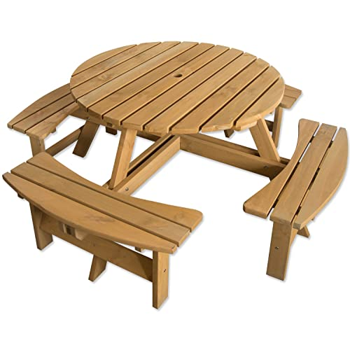 Round Garden Table And Chairs Amazon Co Uk