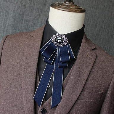 Hombre Corbata de lazo Collar Flor Moda Corbata de lazo Collar ...