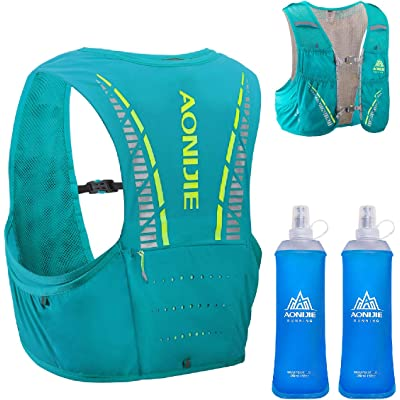 TRIWONDER Mochila de Hidratación 5L Ligero Superior Chaleco para Trail Running Ciclismo Marathoner Profesional Hombre Mujer