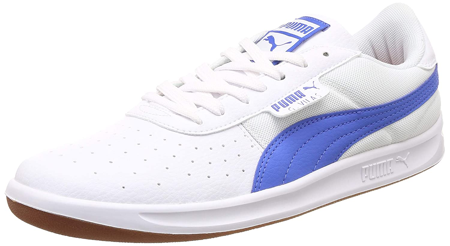 4beb6cbe5e40 Puma Men s G. Vilas 2 Core IDP White-Biscay Gr Sneakers  Buy Online at Low  Prices in India - Amazon.in