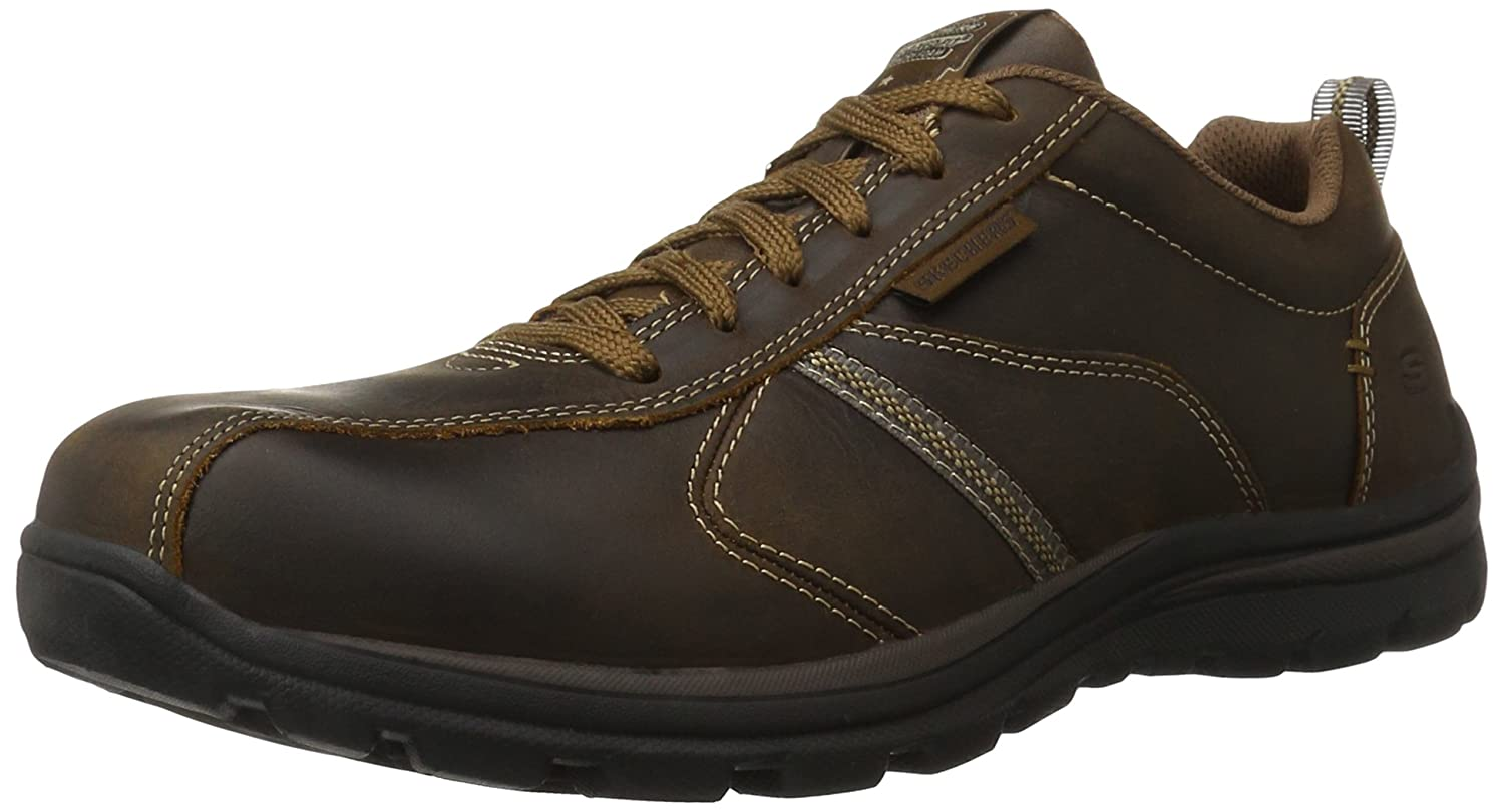 Skechers Superior Cozart Chocolate Brown Mens Trainers