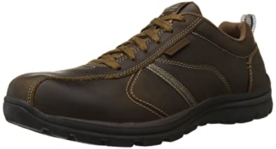 Brown Skechers Mens Levoy Oxfords
