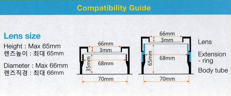 Pochette imperm/éable//Bo/îtier /étanche jusqu/à 5m IPX8 JIS//Flotte sur leau Housse /étui /étanche de DiCAPac pour Sony Cybershot DSC HX 50V Cybershot DSC HX 60V Appareil Photo