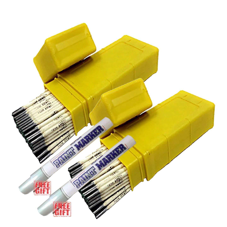 E6011 Stick Electrodes Welding Rods 3/32' 1/8' 5/32' 10 lb 2-pk (2-pk 5/32') not available