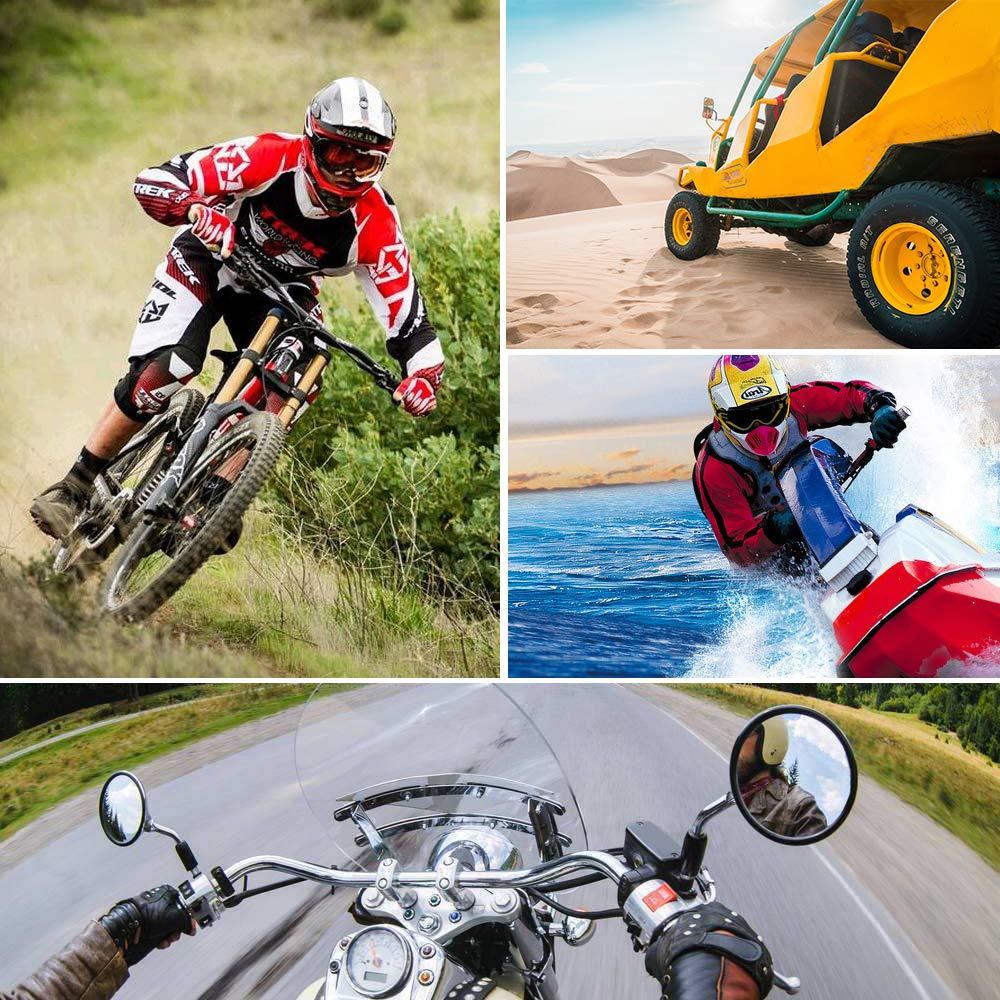 Nikon y Otras Action C/ámaras Canon woleyi Soporte Bici para Gopro Hero para 15 a 33mm Soporte Manillar Clip para GoPro Hero 7 6 5 4 3 Soporte Bicicleta Moto