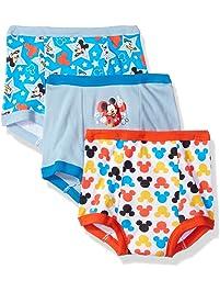 1810291ac9dbfb Disney Boys' Mickey Mouse 3pk Training Pant