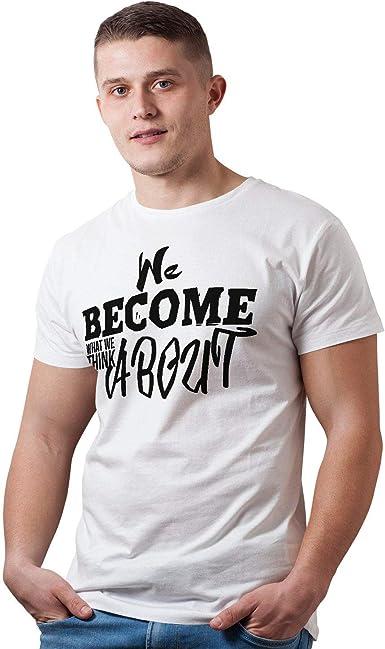 Decords We Become Camiseta Unisex con Frase Personalizada ...