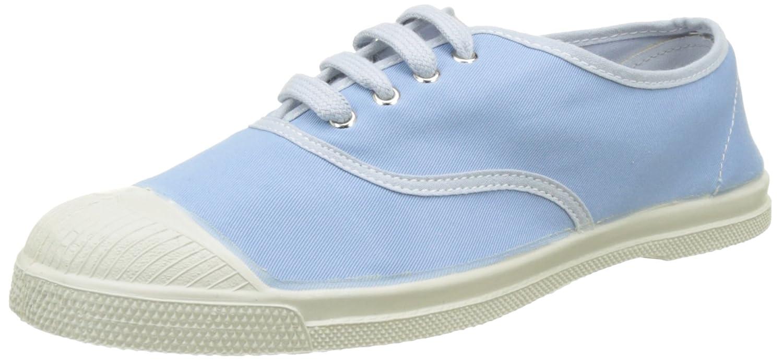 Tennis Lacets, Zapatillas Para Mujer, Azul (Bleu Clair), 39 EU Bensimon