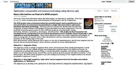 Spintronics-Info