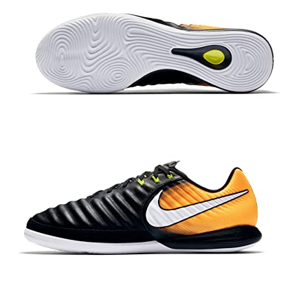 Amazon.com  Nike JR TiempoX Proximo II IC Black-Orange (Indoor ... dd178db2d