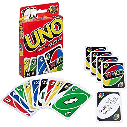 Hello22 UNO Card Game Playing Game Cards for Family Friends Fun Playing Cards