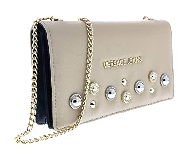 2ef3eef15362a Amazon.com: Versace Beige Wallet on Chain-EE3VTBP44 E723 for Womens ...