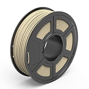 TECBEARS PLA 3D Printer Filament 1.75mm Wood, Dimensional Accuracy +/- 0.02 mm, 1 Kg Spool, Pack of 1