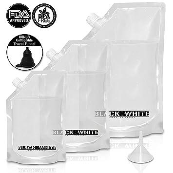Blanco y Negro Etiqueta empresa Premium camino de Ron frasco de licor crucero de plástico Copa