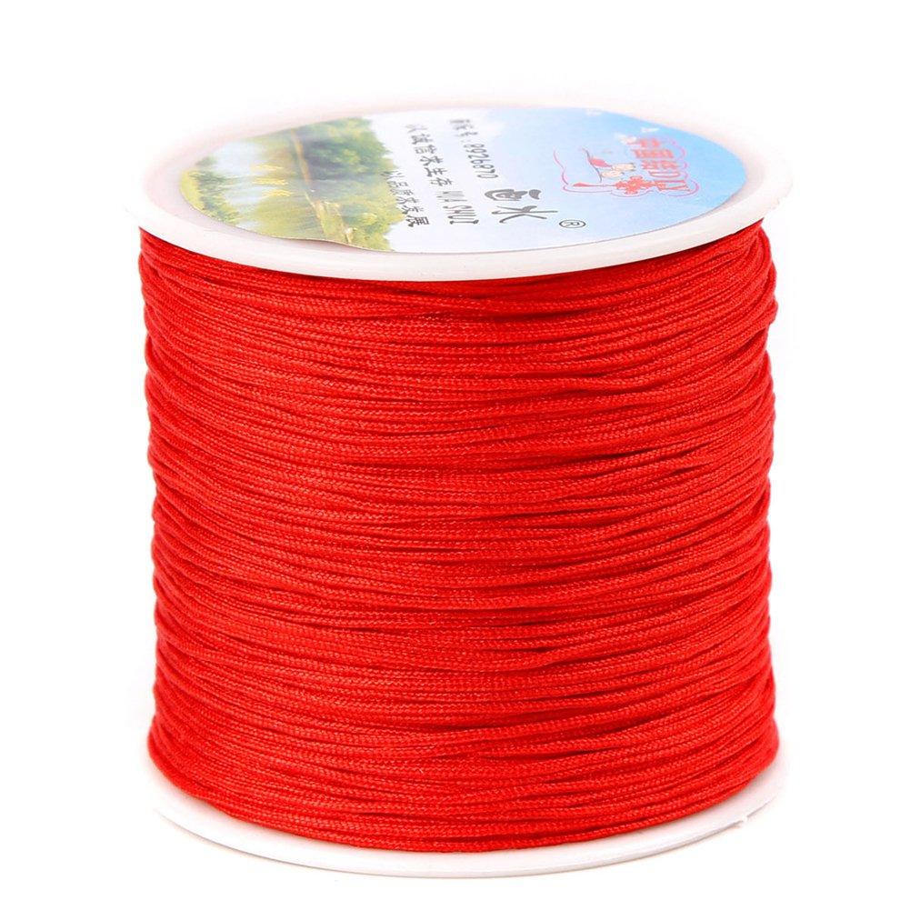 Chinese Knotting Cord - 0.8mm 100M/Roll Shamballa Macrame Nylon Braided Cord String Thread DIY Braided Rope (Mix 29 Rolls) by zhengjun (Image #4)