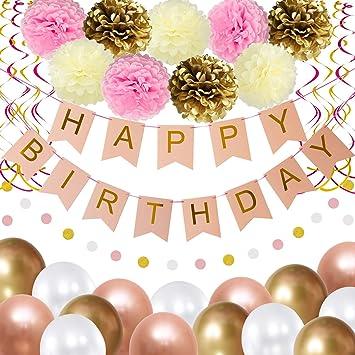 Amazon.com: Thaway - Decoración de cumpleaños para fiestas ...