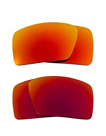 d5ea818c95 Eyepatch 1 Replacement Lenses Red   Yellow by SEEK fits OAKLEY Sunglasses
