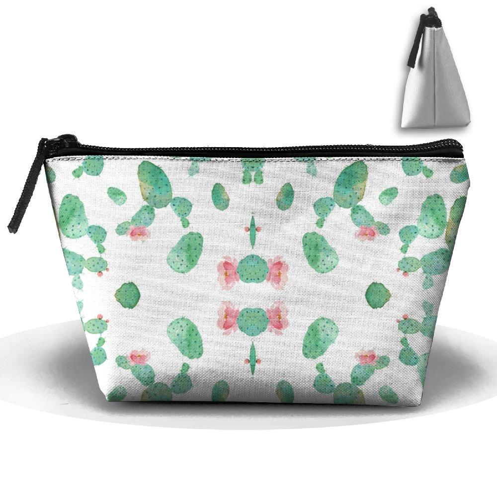 Desert Rose Cactus Travel Kit Organizer Bathroom Storage Cosmetic Bag Carry Case Toiletry Bag hot sale 2017