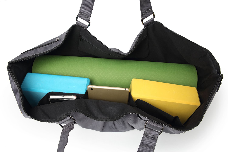 para Pilates o yoga azul oscuro Extra grande Bolsa de deportes para esterillas de gimnasio de Elenture