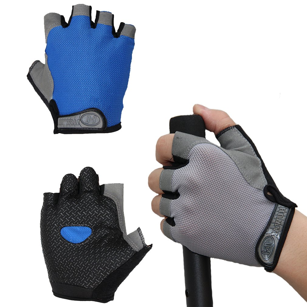 Cycling Gloves for Men Women Exercise Sports Bikes SPOLLKgloves01 2 Pair Weight Lifting Gloves for Gym Training