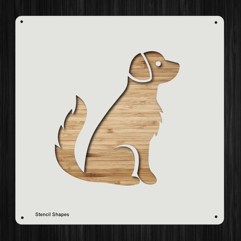 Dog Stencil 350 micron Mylar not Hobby stuff #DOGS106 STANDARD POODLE