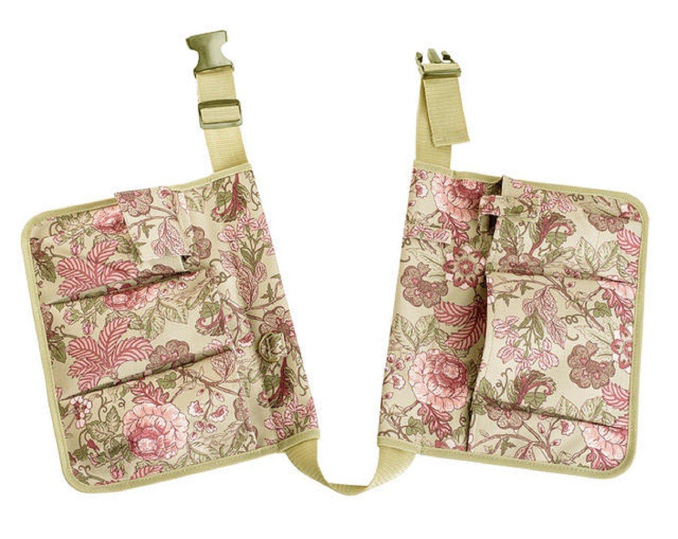 Garden Girl TB30 Chelsea Print Tool Belt - Green/Plum/Pink GardenGirl AB