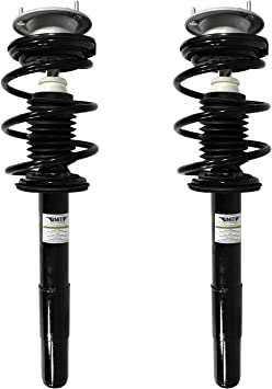 Unity Automotive 2-15950-001 Quick Complete Rear Pair, Spring, and Strut Mount Assembly Kit
