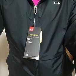 Amazon アンダーアーマー ウーブン テキストロゴ フルジップフーディー トレーニング レディース 001 日本 Sm 日本サイズs相当 トレーナー パーカー 通販