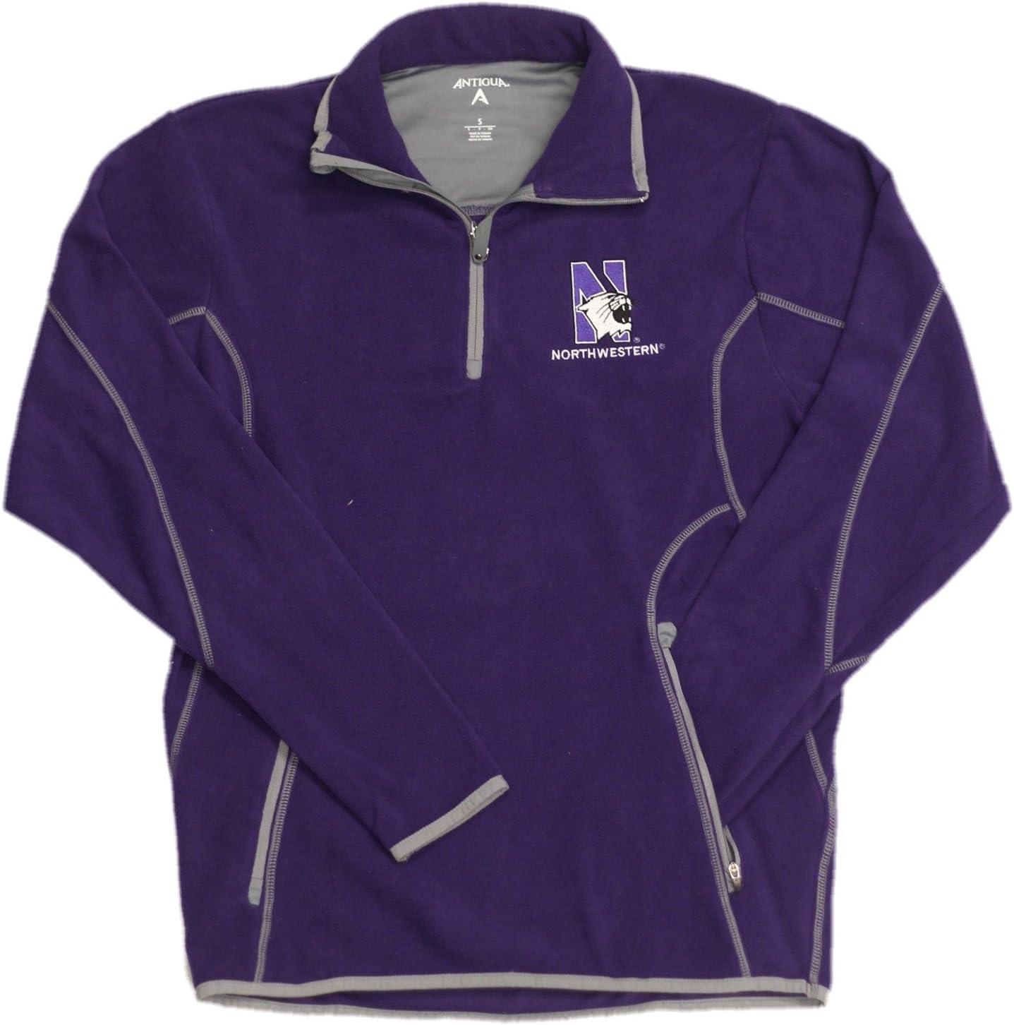 Northwestern Logo Purple Fleece Ice Pullover Sweatshirt