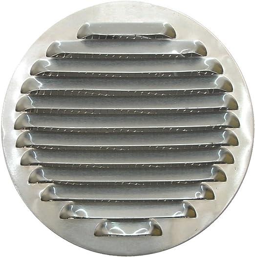 Tapa de Rejilla de Ventilación de Aluminio Circular Ø 100 mm, Rejilla de Ventilación de Campana Extractora, Rejilla de Ventilación de Aluminio Circular con Malla.: Amazon.es: Bricolaje y herramientas